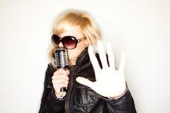 Rock star Stock Photography