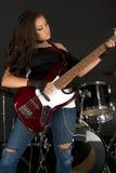 Rock star fotografie stock libere da diritti