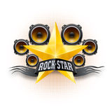 Rock star Stock Image