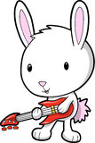 Rock Star Bunny Vector Stock Images