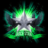 Rock star Royalty Free Stock Photo