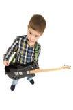 Rock star kid Stock Photos