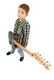 Rock star kid Royalty Free Stock Photography