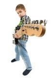 Rock star kid Stock Photography