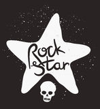 Rock Star Poster Stock Photos