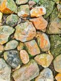 Rock. Stone on the ground Royalty Free Stock Photography