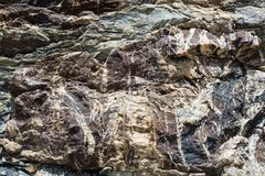 Rock stone pattern, textured backgrounds Royalty Free Stock Images