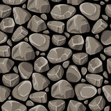 Rock Stone Seamless Pattern Stock Photography