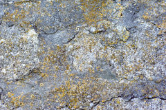 Rock stone texture, background closeup, wall Royalty Free Stock Photography