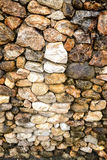 Rock stone texture background selective focusing at the middle (low depth of field) warm filtered Royalty Free Stock Photo