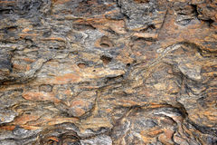 Rock and stone texture from nature. Near seaside in tropical country Royalty Free Stock Photos