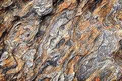Rock and stone texture from nature. Near seaside in tropical country Stock Photography