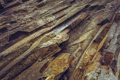 Rock strata closeup Stock Image