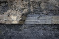 Rock strata, Dorset Royalty Free Stock Photography