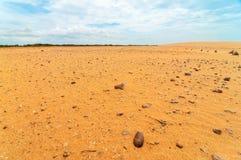 Rock Strewn Desert Landscape Royalty Free Stock Photography