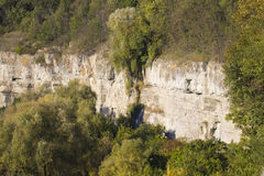 Rock structure in the Canyon Royalty Free Stock Images