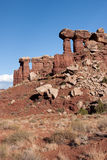 Rock Structures at Canyonlands National Park Stock Photography