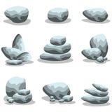 Rock style collection stock vector. Art illustration Stock Photos