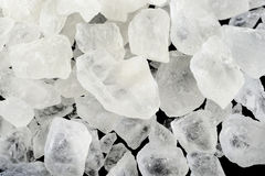 Rock sugar at on background Royalty Free Stock Images