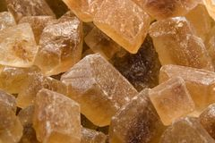 Rock sugar closeup Royalty Free Stock Image