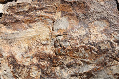 Rock surface Royalty Free Stock Photography