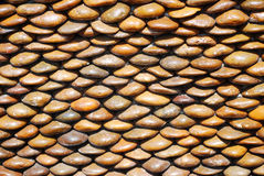 Rock surface. Background with brown colour Royalty Free Stock Photos