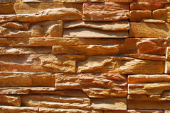 Rock surface. Square Rock surface background with brown colour Royalty Free Stock Images