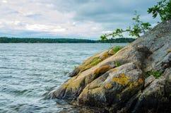 Rock of Sweden Stock Photo