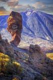 Rock in Teide Stock Images