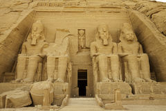 Rock temple of rameses II Royalty Free Stock Photography
