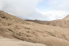 Rock terrain in Temeru National Park in Java Indonesia. Near Bromo Mountain Stock Photos