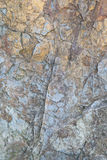 Rock texture. Blue and yellow rock texture Royalty Free Stock Photography