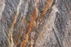 Rock texture. Different geological layers Royalty Free Stock Images