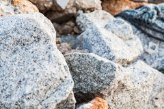 Rock texture in close up Royalty Free Stock Image