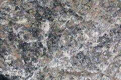 Rock Texture. Closeup on a Natural Green and Orange Rock Texture Stock Photography