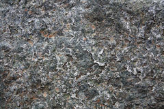 Rock Texture. Closeup on a Natural Green and Orange Rock Texture Royalty Free Stock Photos