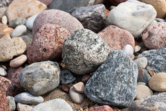 Rock texture from rock pile Royalty Free Stock Photos
