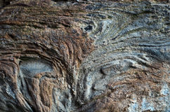 Rock. Texture of rocks shaped by time Stock Photography