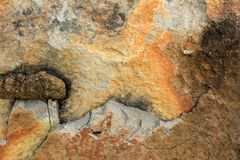 Rock Textures 1 Royalty Free Stock Images