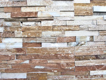Rock textures, bricks on wall Royalty Free Stock Image