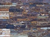 Rock textures, bricks on wall Stock Photos
