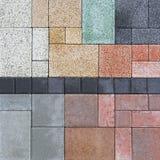 Rock tiles Stock Photos