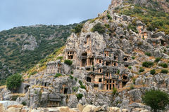 Rock tombs Royalty Free Stock Photo