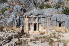 Rock Tombs Stock Photography
