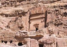 Rock tombs, Petra Royalty Free Stock Images