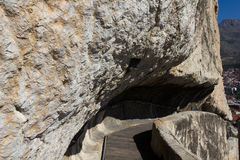 The Rock Tombs of The Pontic Kings Royalty Free Stock Photo