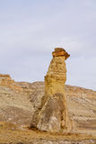 Rock tower in Cappadocia Royalty Free Stock Image