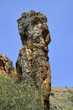 Rock tower in Galilee, Israel Stock Photography