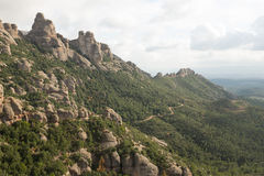 Rock tower ridge. Royalty Free Stock Photography