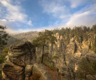 Rock Town in Bohemian Paradise Royalty Free Stock Photography